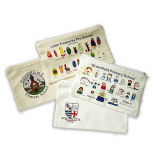 ジッパーの財布が付いている小型綿袋