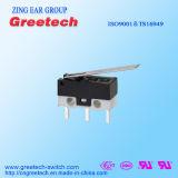 Subminiature Mini Micro- die Schakelaar 0.1A 3A voor ElektroApparaten en Hulpmiddelen wordt gebruikt