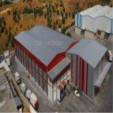 Портативное здание металла структурно стали металлическое с пядью длинной жизни