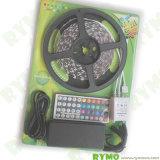 набор света прокладки 5m СИД с иК Controller+150 СИД RGB SMD5050 44 ключей, электропитанием Waterproof+12 v (RM-SK-5050RGB30W--44K)