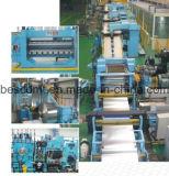 Bobine d'acier à haute vitesse de ligne de refendage/machine de refendage de tôles en acier
