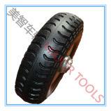 Rotella del solido della gomma piuma dell'unità di elaborazione del pneumatico 3.00-4 di Agriculatural
