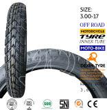 Motorrad zerteilt Motorrad-Motorrad-Reifen-Motorrad-Gummireifen weg von Straßen-Reifen 3.00-17