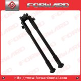 9 polegadas Black Terminished Machined Aluminium Gun Bipod ou Airgun Bipod ou Steel Stand