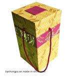 De vierkante Doos die van het Karton voor Kunsten met Handvatten verpakken