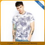 Le modèle neuf des hommes All Over des T-shirts d'impression de sublimation de teinture