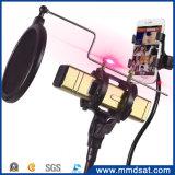 KhM1手持ち型のBluetoothのスピーカーの無線電信のマイクロフォン