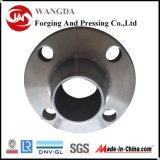 La flangia del collo della saldatura del acciaio al carbonio dell'ANSI B16.5 ha forgiato la flangia per il fante di marina