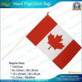 Drapeau ondulé à main imprimé digital imprimé à la main (NF01F02022)
