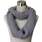 Mulheres Cashmere Pashmina acrílico de moda de Inverno lenço de beiral infinito (YKY4186)
