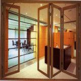 Дверь окна профиля Маврикия алюминиевая для используемой конструкции главной двери Тамильский язык с штангой