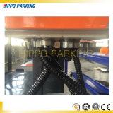 Tipo de la elevación hidráulica y almacenaje de la elevación del coche de poste cuatro