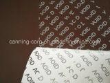 L'impression couleur Tamper-Evident étiquette contre la falsification de sécurité, la fraude, la contrefaçon et le vol