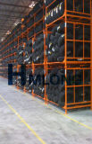O armazém que empilha o armazenamento do metal cansa o racking