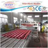 Whosale Corrugated Roofing Sheet Synthtic Resin Fiber Roof Tile Machine