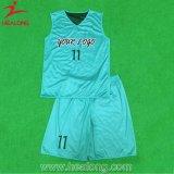 Healong precios baratos de marcha de prendas de vestir de cualquier tamaño y número de sublimación camisetas de baloncesto