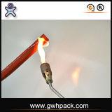 Koker Op hoge temperatuur van de Brand van de Glasvezel van het silicone de Rubber Hittebestendige