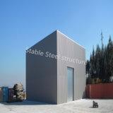 직업적인 계약자에서 전 설계된 강철 구조물