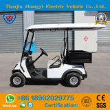 Carro de golfe a pilhas elétrico projetado novo de 2 assentos com cubeta e Ce & GV para o recurso