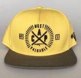 カスタム綿の物質的な卸し売り帽子5のパネルの急な回復の帽子の製造業者