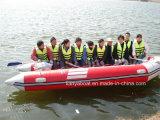Liya 2-8.3meter bateau pneumatique pliable peu encombrant bateau côtier Chine