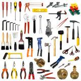 Tutti i tipi di famiglia e di utensili manuali di Construc