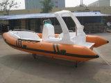 19метров ребра580c на лодке с маркировкой CE стекловолоконные жесткого корпуса надувные лодки с подвесным мотором рыболовного судна