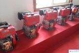 Малых морских 4-тактный дизельный двигатель с водяным охлаждением воздуха типа по вертикали