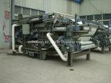 Sistema de tratamiento de agua de lavado del carbón filtro de usar la correa de la máquina de prensa