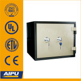 UL 1 Hour Fireproof Safes (Fjp-38-1b-Kk d'Aipu avec Two Key Lock)