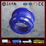 トラックの管のバスまたはトレーラー(8.5-24、5.5F-16)のための鋼鉄車輪の縁