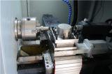 Maschinell bearbeitende Aluminiummaschinerie-Teile kleine horizontale CNC-Drehbank