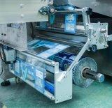 Автоматическая подача вафельной взломщик Cookie печенье упаковочные машины