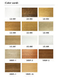 Respiradouro Eco-Friendly Fire-Resist WPC Wood Plastic Composite Wall Jirting (PT-6015)