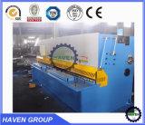 QC11K Giro Hidráulica CNC máquina de corte do feixe, máquina de corte hidráulico