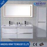 高品質PVC防水二重洗面器の浴室の吊り戸棚