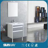 ミラーSw1301が付いている新しい絵画MDFの浴室用キャビネット