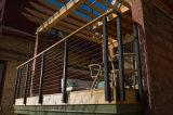 DIY Oberflächen-Montierungs-Balustrade-Draht-Installationssätze mit dem schwarzen Puder beschichtet für äußeren Decking