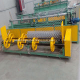Completamente automática de cercado de cadenas de cable único que hace la máquina