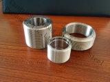 Raccordo per tubi in acciaio inox con nipplo filettato