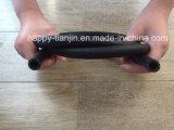 O trançado de fibra única coberto de borracha do tubo de borracha hidráulico SAE100 R6