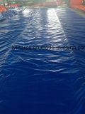 Rouleau de toile de bâche étanche bleu PE, Poly bâche Truk couvrir