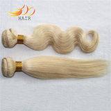 Capelli biondi di colore chiaro dei capelli umani di Remy del Mongolian di 100%