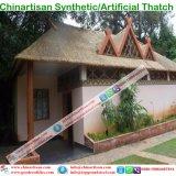 Usine en plastique de matériaux de toiture de chaume de paume de chaume synthétique artificielle de chaume