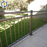 Frontière de sécurité de piquet soudée en aluminium soudée de frontière de sécurité de piquet