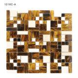 Diseño Brown de Morden y mosaico de cristal blanco