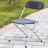 Хромированный металлический Складной стул в случае аренды