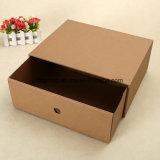 Precio más bajo elegante caja de papel de regalo delicado
