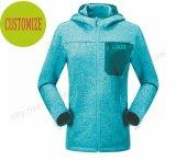 Form-Dame Hoodies mit seitlicher Tasche in der Wolljacke-Kleidung Fw-8813