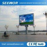 Schermo di visualizzazione esterno largo del LED di colore completo di angolo di visione P10 con il Governo di 960*960mm